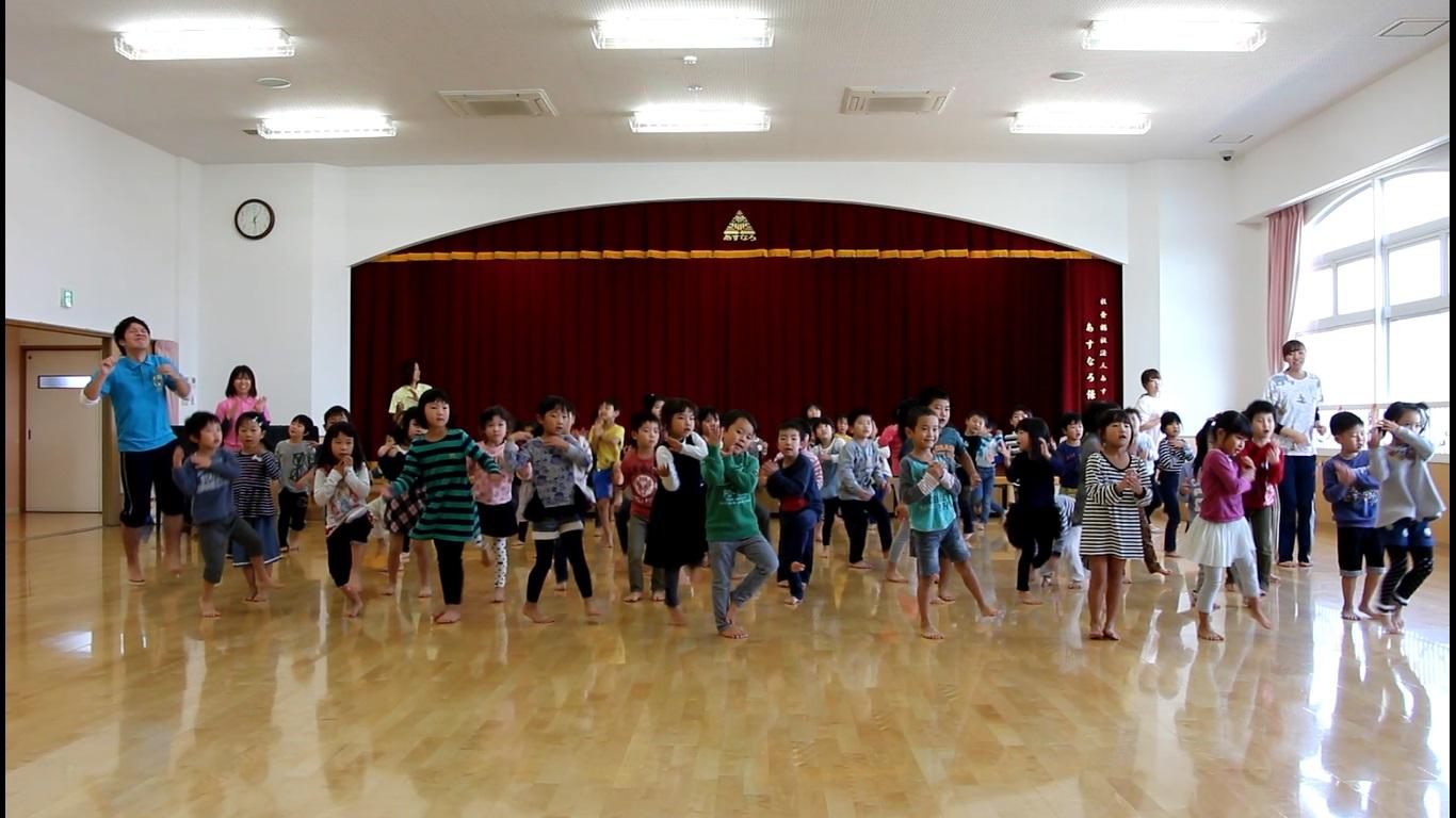 あすなろ保育園 記録写真ダンス