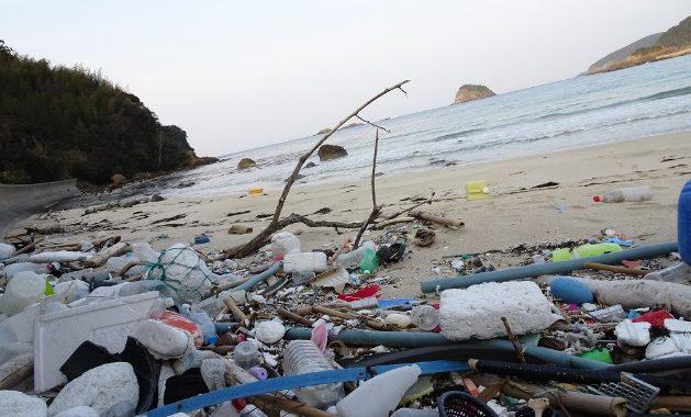 海岸のゴミ①