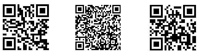 QRコード群